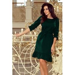 ae20f4e2d9 Sukienka Numoco midi z długim rękawem na sylwestra wiosenna