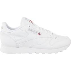 8ac42b8947b Białe buty sportowe damskie Reebok skórzane