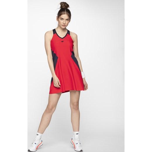 731727ac13 Sukienka do tenisa SUDD401 - czerwony 4F w Domodi