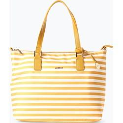 7d1dfaf6e29b2 Shopper bag L.Credi na ramię mieszcząca a4 ze skóry na wakacje