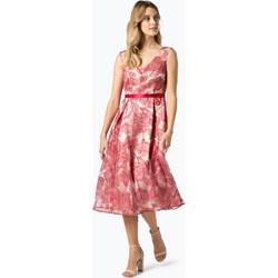 3b40e485c597 Vera Mont Collection sukienka na spacer satynowa balowe