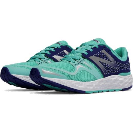 Buty sportowe damskie New Balance dla biegaczy sznurowane
