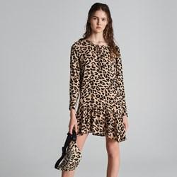 7db1e36f316a0 Sukienka Sinsay na wiosnę z długimi rękawami mini casual