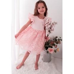 c0b8c76726 Sukienka dziewczęca Lily Grey z koronką