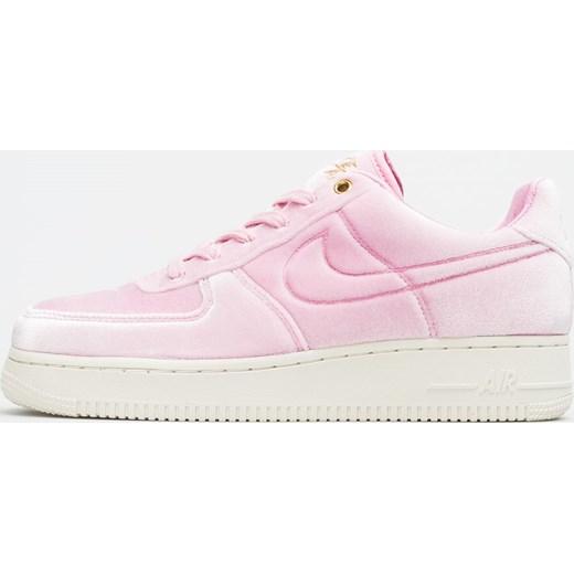 Buty sportowe damskie Nike do biegania air force różowe bez