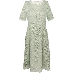 8f5c088865ec4 Sukienka Prettyone zielona na wesele