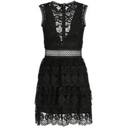 23b6f9b300 Czarna sukienka Guess bez rękawów midi