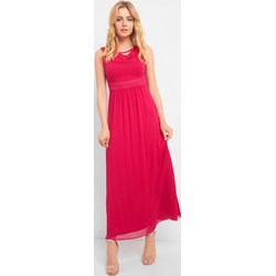 c9bf204ca9 Sukienka czerwona ORSAY z okrągłym dekoltem bez rękawów