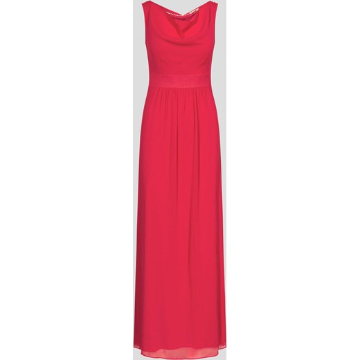 Sukienka czerwona ORSAY z okrągłym dekoltem bez rękawów