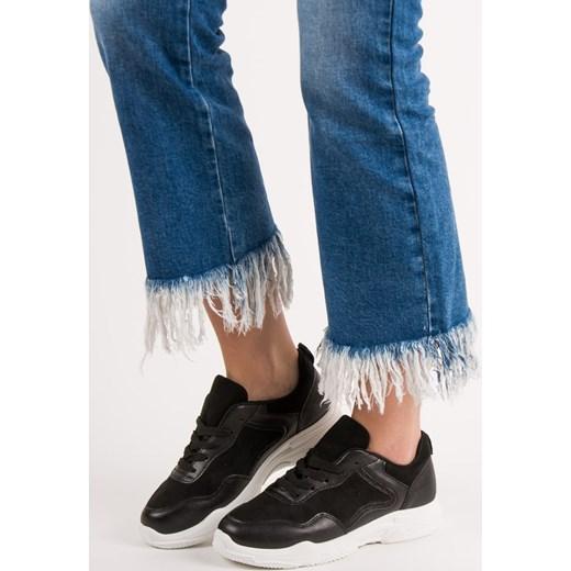 Buty sportowe damskie CzasNaButy na lato sznurowane
