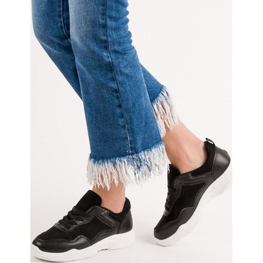 nowy Buty sportowe damskie CzasNaButy na lato sznurowane