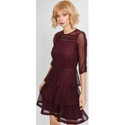 15b74662a5 Femestage sukienka z okrągłym dekoltem z długim rękawem