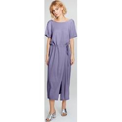 b4285569a3 Femestage sukienka midi prosta