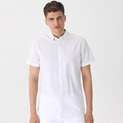 ceb8ca03994ab9 Białe koszule męskie wolczanka krótki rękaw, lato 2019 w Domodi