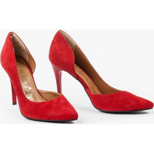 24ccc043f9ce29 ... Czółenka czerwone 1826/955 czerwony Oleksy 37 Oleksy - producent obuwia  ...