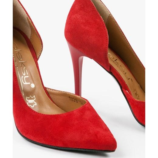4c9dfa034d4562 ... Czółenka czerwone 1826/955 Oleksy pomaranczowy 36 Oleksy - producent  obuwia ...