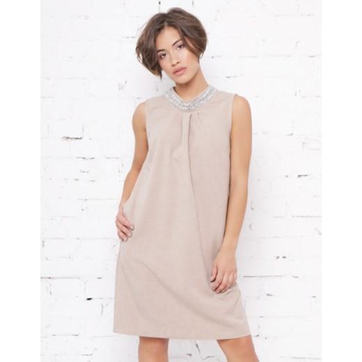 030b192ce9 Sukienka Piu mini bez rękawów w Domodi
