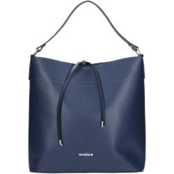 94aed24e4b8b5 Shopper bag Wojas duża skórzana bez dodatków matowa