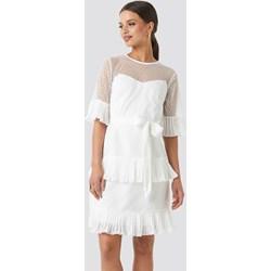 6f550192e2 Sukienka Trendyol mini trapezowa z krótkim rękawem