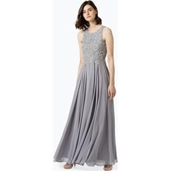11dd09f7df Szare sukienki na wesele maxi