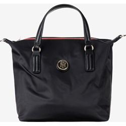 9313b89c2c5ef Shopper bag Tommy Hilfiger matowa mieszcząca a5 do ręki młodzieżowa bez  dodatków
