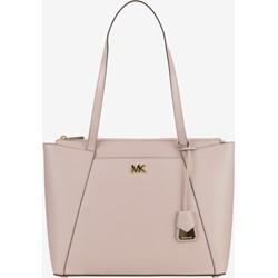 cda4593c99f9d Shopper bag Michael Kors bez dodatków skórzana