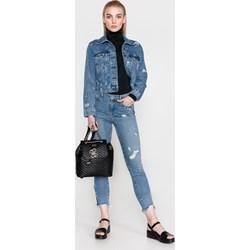 59945c8a484561 Kurtki damskie jeansowe, lato 2019 w Domodi