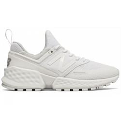 612c4cfac08f2 Buty sportowe damskie New Balance białe sznurowane