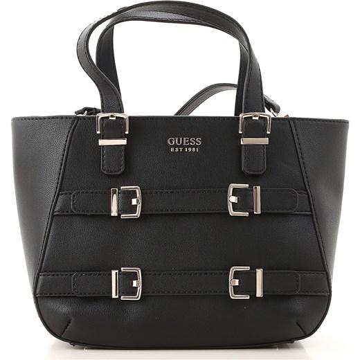 16cc9d0651769 Czarna shopper bag Guess bez dodatków w Domodi