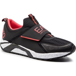 639735e8 Ea7 Emporio Armani buty sportowe męskie letnie z tworzywa sztucznego na  rzepy ...