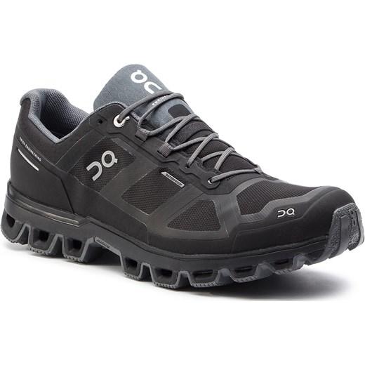 Buty sportowe męskie czarne On wiązane z tworzywa sztucznego