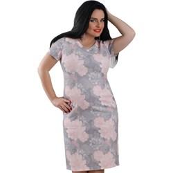 2a8624fc4b Sukienka Lamar wielokolorowa ołówkowa na spacer midi