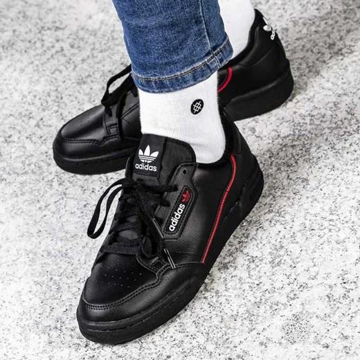 2ab8f5a7ff3cb Trampki męskie czarne Adidas młodzieżowe w Domodi