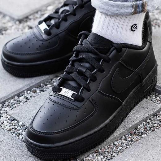 02a676ca Buty sportowe damskie Nike dla biegaczy air force płaskie gładkie sznurowane