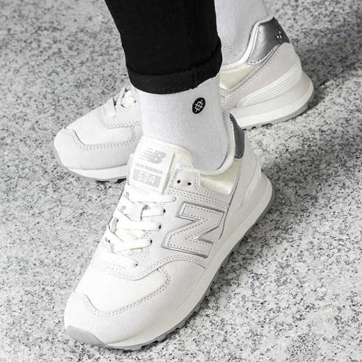 2965efd70 Białe buty sportowe damskie New Balance sneakersy młodzieżowe new 575