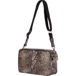 d7399a07bb1ad Listonoszka Mb Classic Bag na ramię w stylu młodzieżowym z tłoczeniem  średnia bez dodatków ze skóry