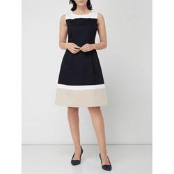 64714f820b Sukienka Montego czarna glamour na urodziny bez rękawów