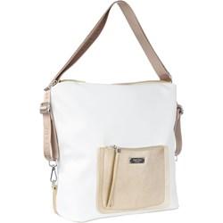 a7d79870f712c Shopper bag Femestage biała duża matowa na wakacje