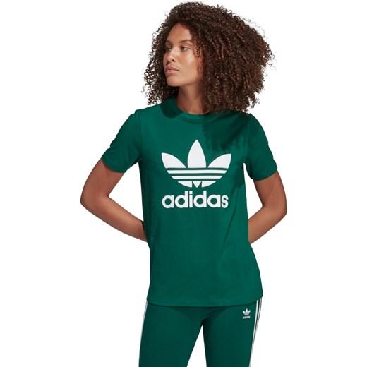 najlepsze podejście nowy styl życia nowy koncept Bluzka sportowa Adidas Originals zielona