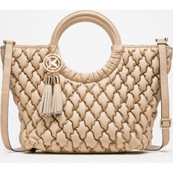 b31670c248e6c Shopper bag Kazar pikowana