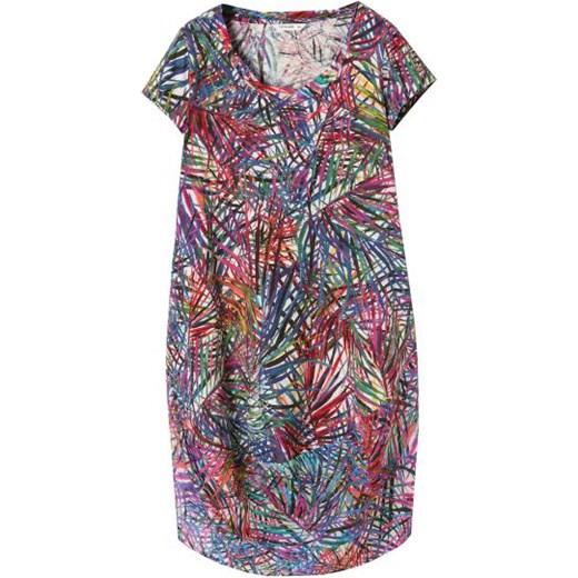 00e54547b6 Sukienka Tatuum z dzianiny z okrągłym dekoltem w Domodi