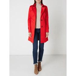 b16b5c342d572 Płaszcz damski Jake*s Collection bez wzorów z elastanu