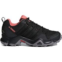16099a4d250273 Buty trekkingowe damskie Adidas bez wzorów sznurowane