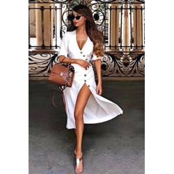 4876b6e577 Sukienka Ivet.pl z krótkim rękawem