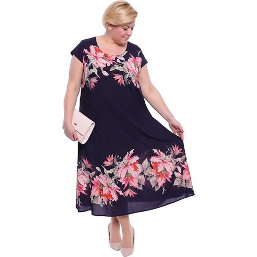 c3ea39c624 Sukienka Modne Duże Rozmiary w Domodi