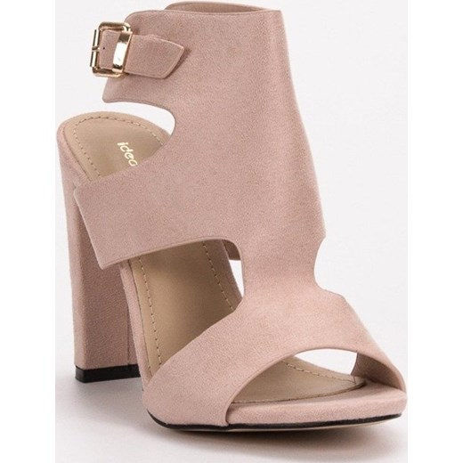 d8464d8929c93b SEKSOWNE SANDAŁKI NA OBCASIE Ideal Shoes merg.pl w Domodi