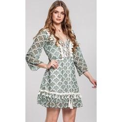 dee6cc5426 Sukienka Renee mini z aplikacjami