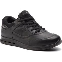 a85fc4a046403 Buty sportowe damskie Ecco dla biegaczy sznurowane na płaskiej podeszwie  gładkie