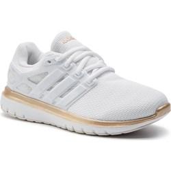 1dda44e3ea1ce4 Białe buty sportowe damskie Adidas wiązane bez wzorów