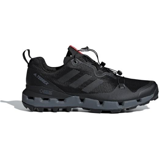 Adidas buty sportowe męskie terrex czarne wiązane gore tex